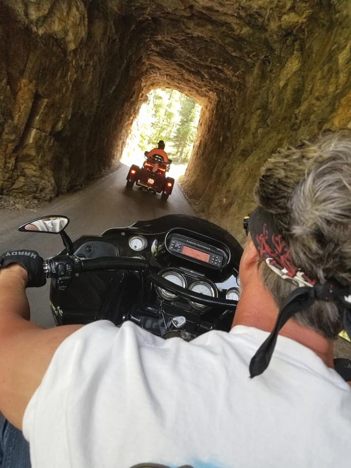 Ride Needles Highway…one of the Black Hills most popular rides. Seen here is one of the many tunnels you will go through.