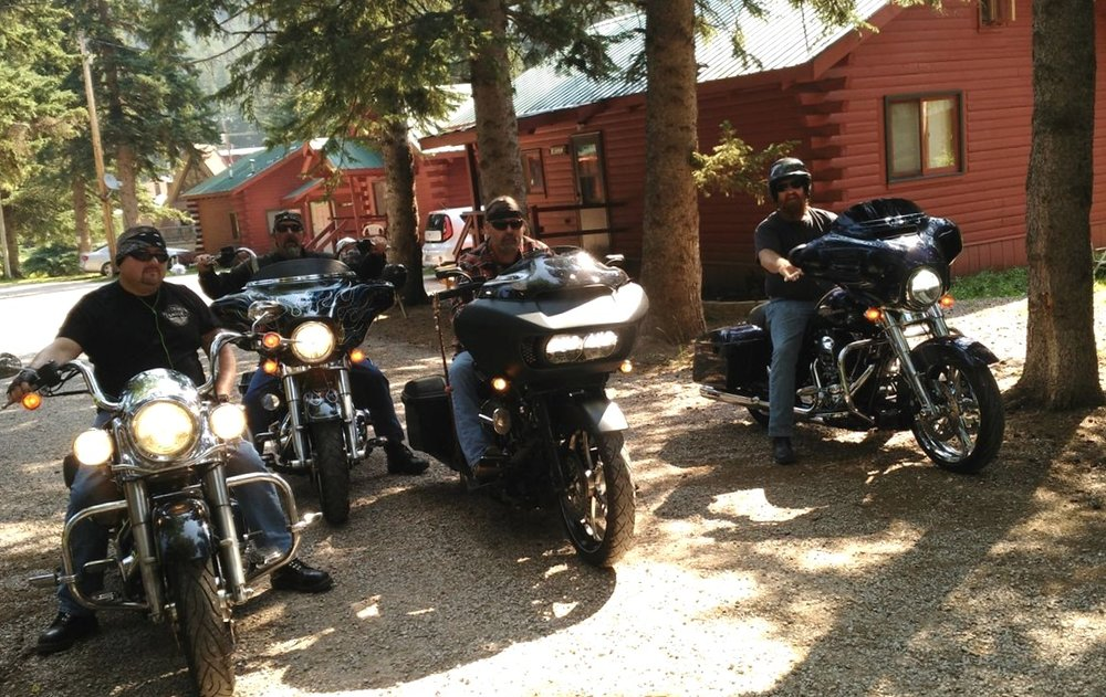Some of our regulars getting ready for a ride.