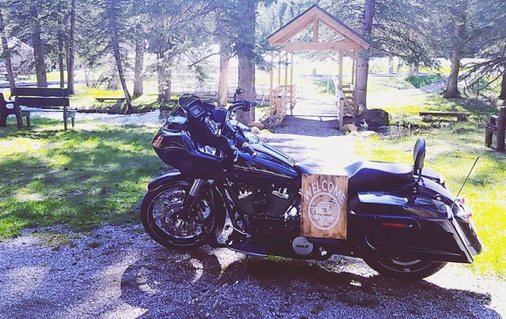 Our location is the right next to the 18 mile Spearfish Canyon Ride.