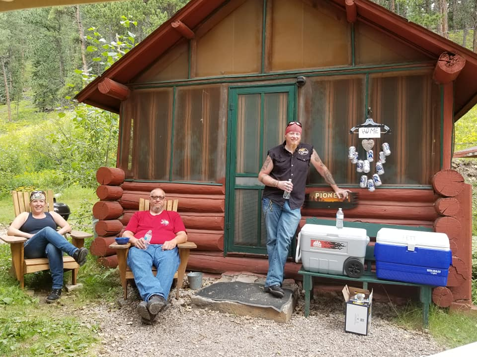 At Wickiup, we really do encourage you to feel at home. Here, some regulars hung up their own homemade wind chime to add the extra touch. =)
