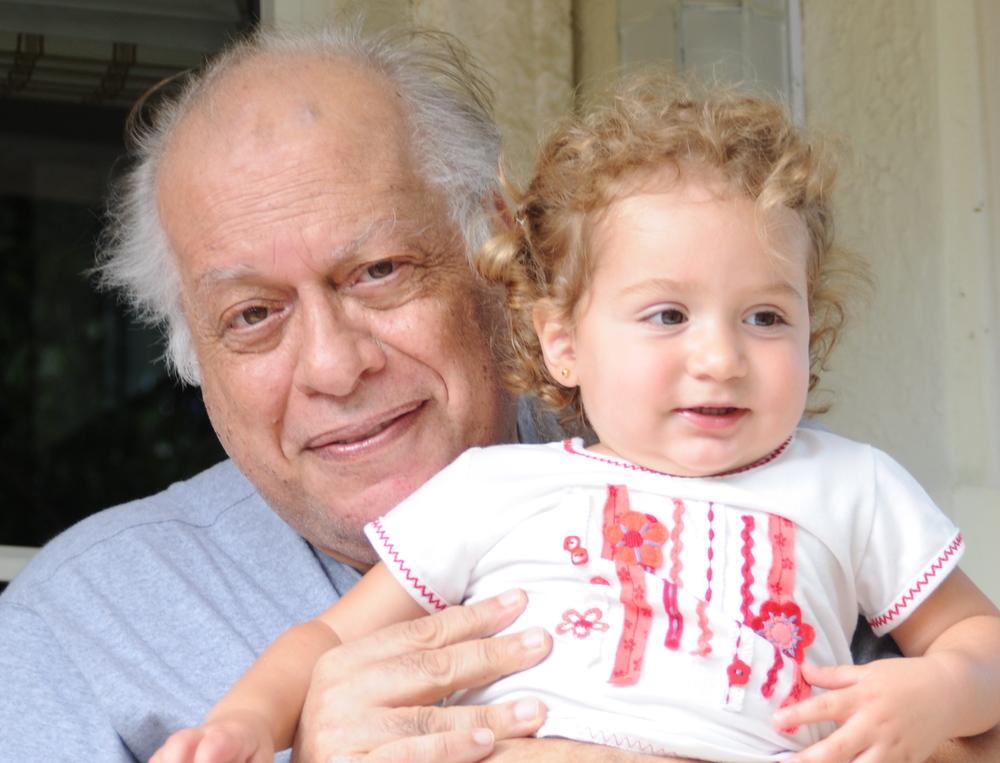 grandpa and zoe