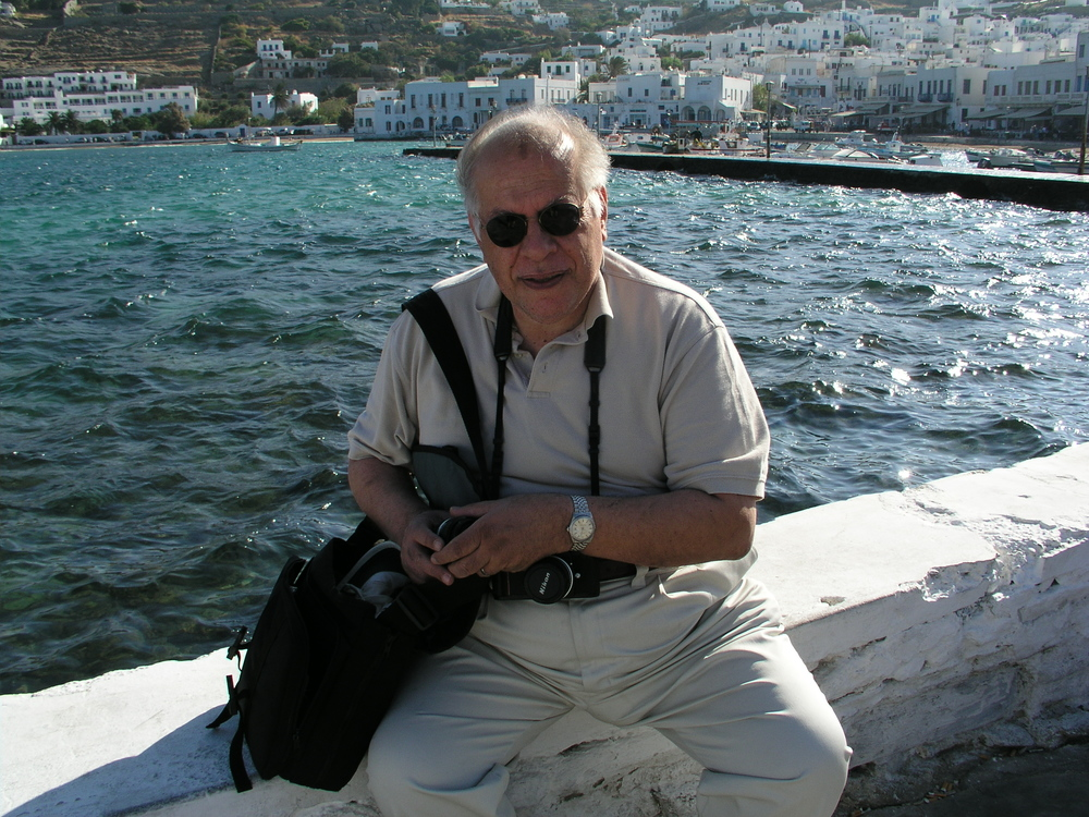 Dad in Greece