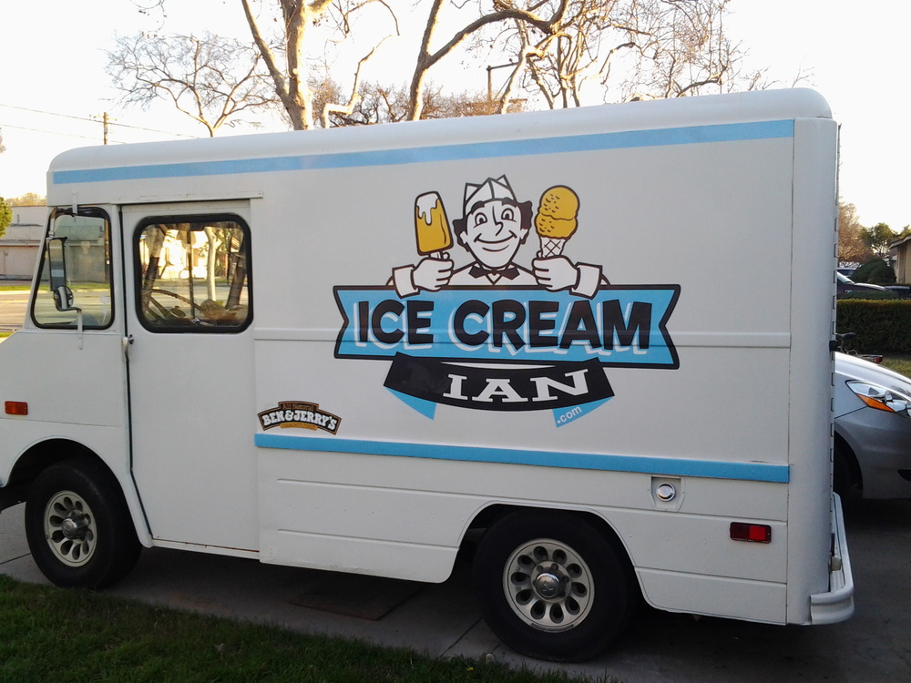 Bessie, the original ice cream truck, used to belong to the famous Ice Cream Man. It has been used to hand out 100s of thousands of free ice cream.