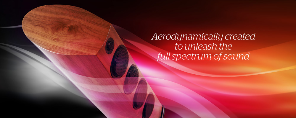 Aerodynamically created