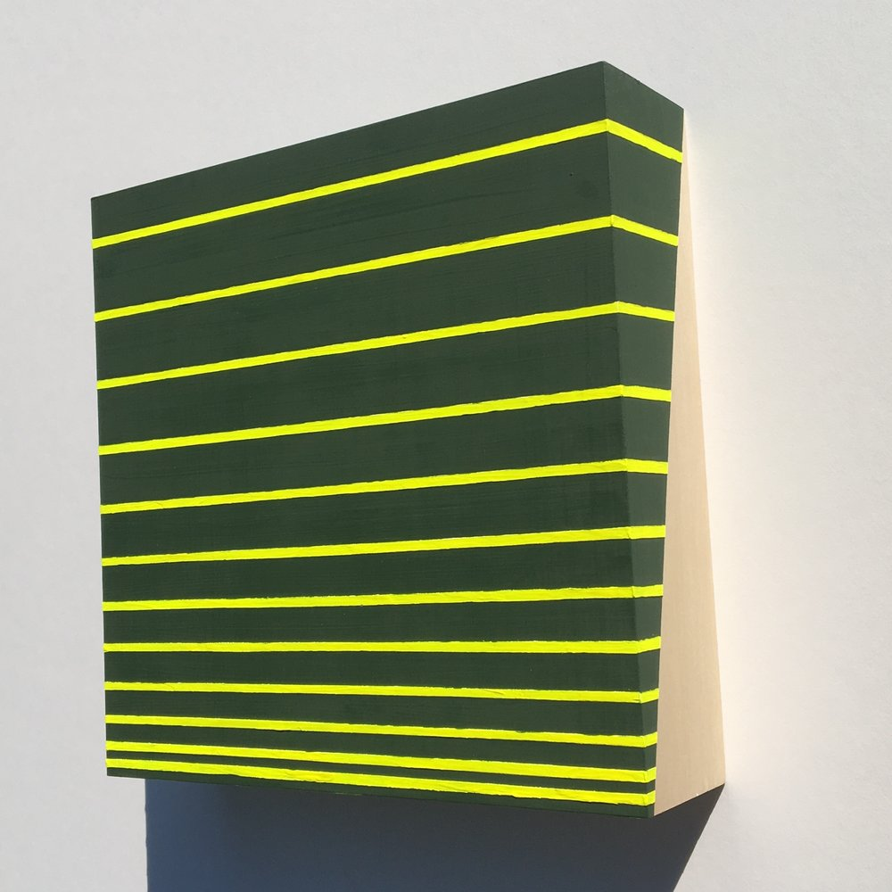 "Katherine Murdock, ""Cobalt Green Hue/Fluorescent Light Yellow"""