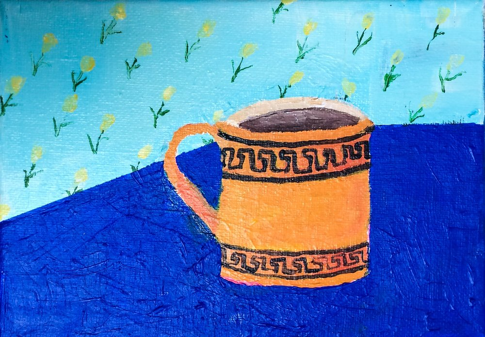 "Polly Shindler, ""Mug"", 2017"