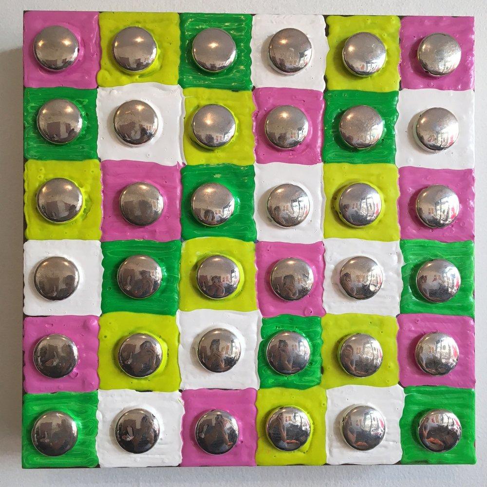"""Bea Wolert, """"Inlaid #3"""", 2017"""