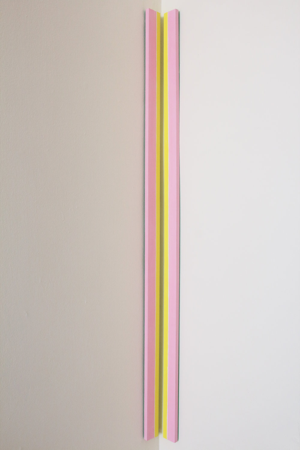 Patricia Zarate,  On Slender Stems (pink) , 2017