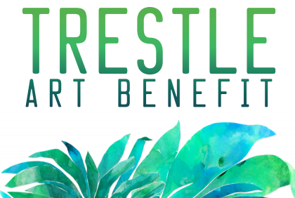 Don't miss the opportunity to participate in Trestle's annual benefit on November 29th from 7-9PM.   Purchase tickets and claim artwork NOW with the VIP pre-sale.