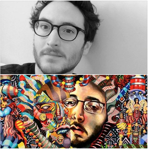 """Trestle introduces  #TrestleArtistResident Alumni spotlight, Jacob Hicks! Jacob completed his residency with  Trestle Gallery in 2013.  He states: """"My works are expressions of the contemporary conjunction within which we reside, the awkward interstices between the death of religion as our primal organization and an unnamed future. Through them I mourn the loss of a unifying narrative as I edge toward the requisite recognition of cultural simultaneity. My work is particularly informed by the art of the medieval period, the primitive Flemish, the German, French, and Italian renaissance, and the 19th and 20th century African sculpture that so informed European modernism and cubism.""""  Jacob has had solo exhibitions in Gates Gallery, MD, The  Cupping Room Cafe , New York, NY, The Doolin Gallery, TX, and group shows at Mark Miller Gallery, Garis and  Hahn Gallery at New York, NY, The @Lounge Underground, Trestle Gallery, at Brooklyn, NY, and many more."""