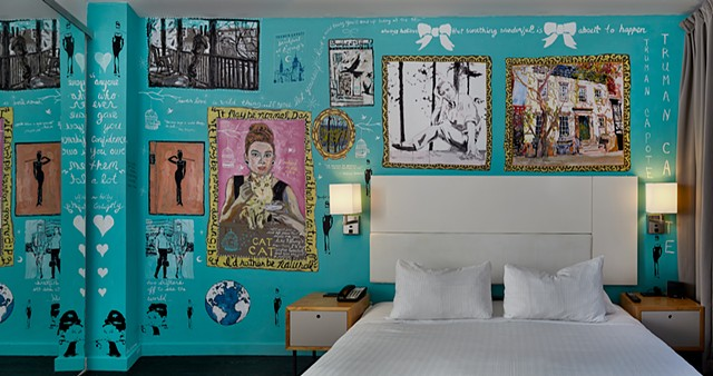 Nu Hotel - NU Perspectives Project, the 93-room boutique hotel has given creative license to a variety of artists to liven up the largest guestrooms.Soon: Interview from Natalie Lomeli and Lisa Warren