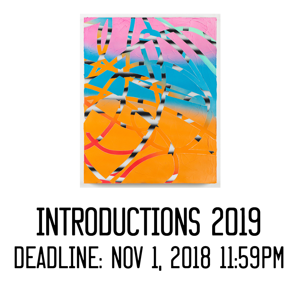 Introductions is an annual open call hosted by  Trestle Gallery .  In support of our 2019 exhibition theme & focus, all applicants to 2019's open call will be considered for a solo exhibition at  Trestle Gallery , curated by  Jason Andrew .   The only qualification is that you have not participated in a curated show at Trestle Gallery before (previous open calls such as Introductions & Small Works count, TAS Member Salons & Resident Exhibitions do not count).  [image: Ruth Freeman]   Jason Andrew is an independent scholar, curator, and producer. He is the Founding Partner at  Artist Estate Studio, LLC , which manages the estates of  Jack Tworkov ,  Janice Biala , and  Elizabeth Murray  as well as the studio of  Robert Zakanitch  to name a few. A prominent figure in the Brookyn art scene, Mr. Andrew is the co-founder and director of  Norte Maar   a non-profit now celebrating its 15th anniversary encouraging, promoting, and presenting collaborative projects in the arts.