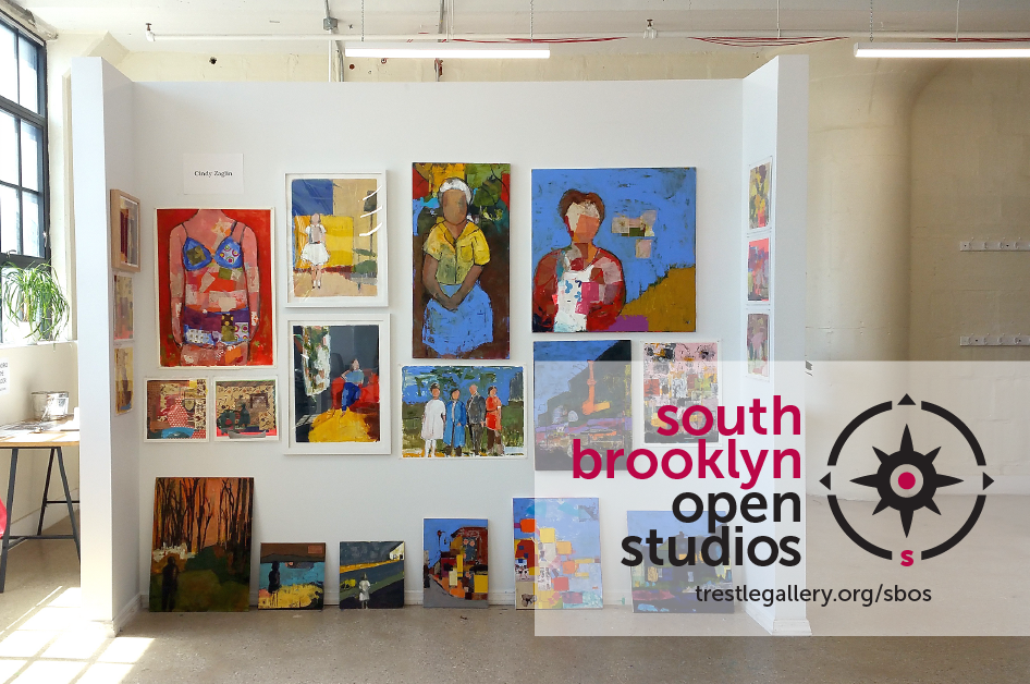Go south for art! Find out more about South Brooklyn Open Studios here!