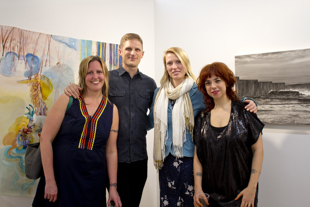 Left to Right: Anne Polashenski, Gregory Thielker, Katerina Lanfranco, Elizabeth Insogna (Ashley Hope is not pictured but will be attending the event).