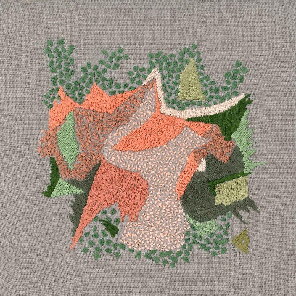 Gianna DiBartolomeo  Fragmented Flowers VII  2017