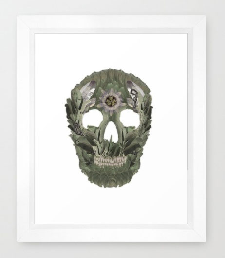 Robin-Hercia-Jungle-Skull-Framed.jpg