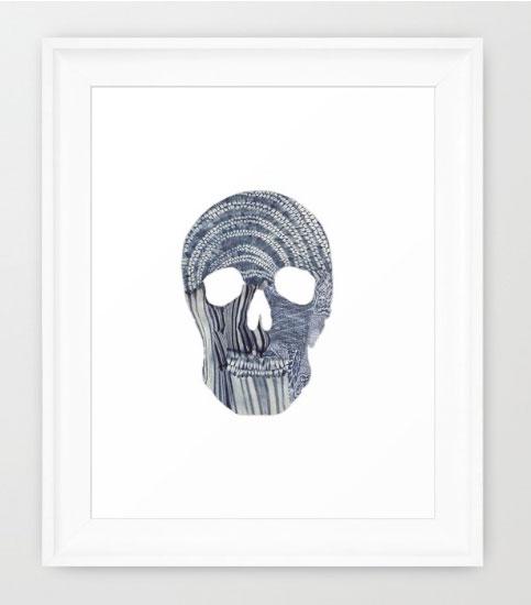 Robin-Hercia-Shibori-Skull-Framed.jpg