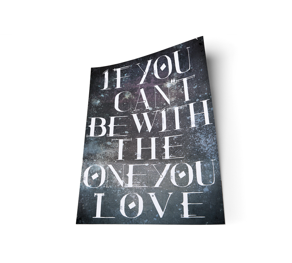 Robin Hercia Typography Poster