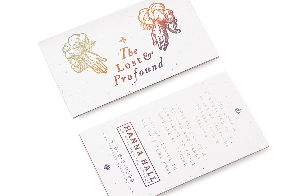 Robin Hercia The Lost & Profound Business Card
