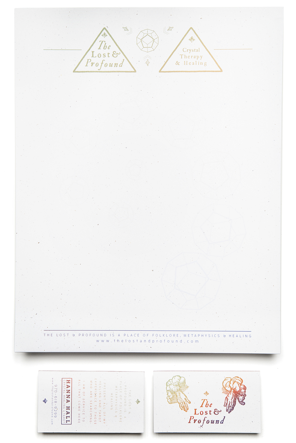 The Lost & Profound Letterhead