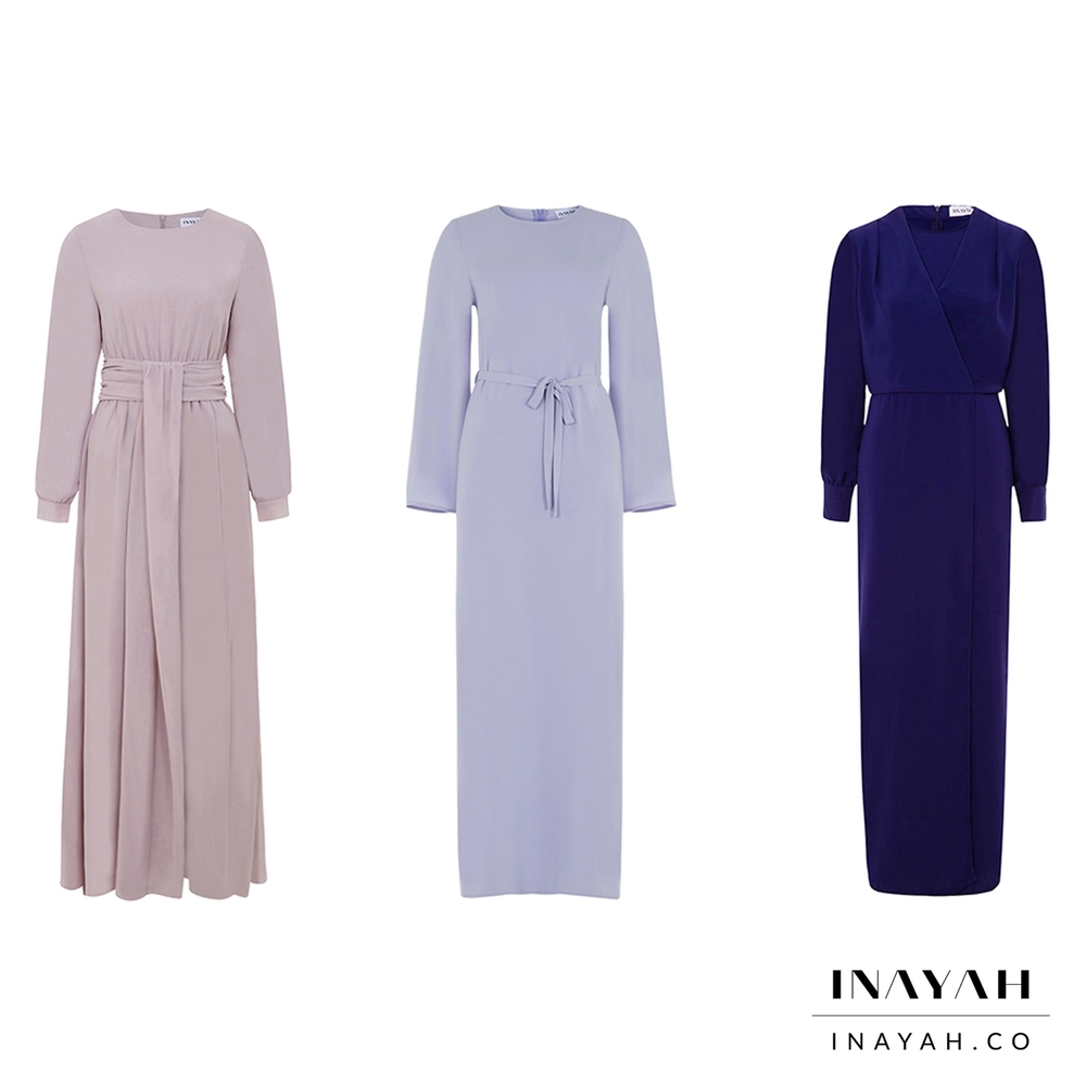 Mauve Maxi with Basque Detail  Isabella Kimono Sleeve Maxi Dress in Blue  Royal Blue Belted Wrap Dress
