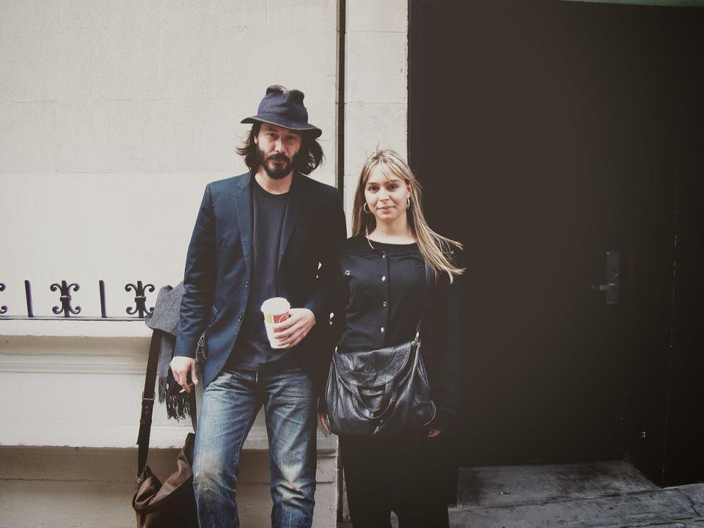 Vanessa & Keanu sur la 5th avenue