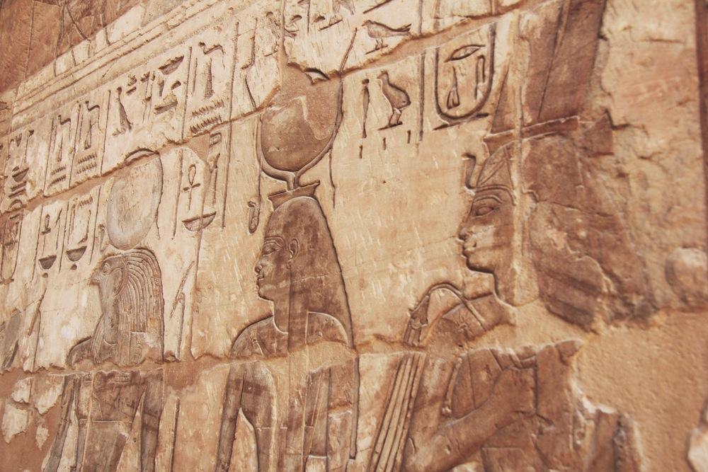 hiéroglyphes egypte