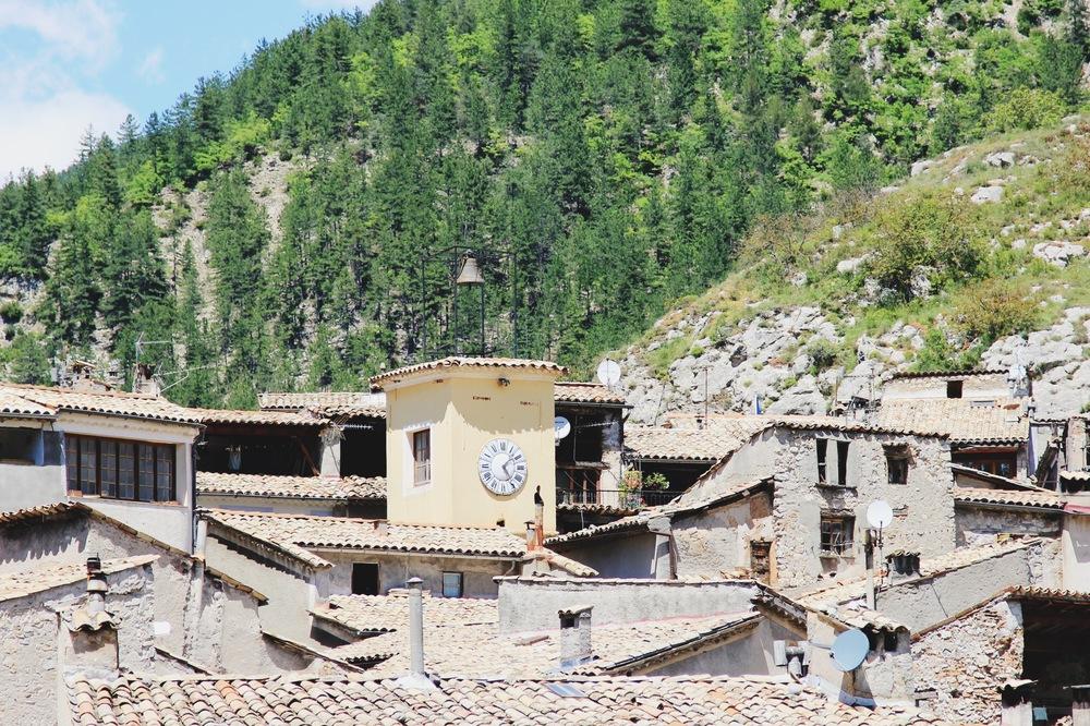 village entrevaux