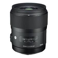 Sigma Objectif 35 mm F1,4 monture Canon