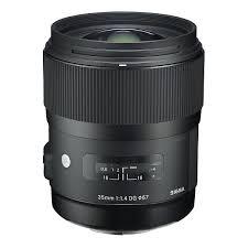 Sigma Objectif 35 mm F1,4 monture Canon