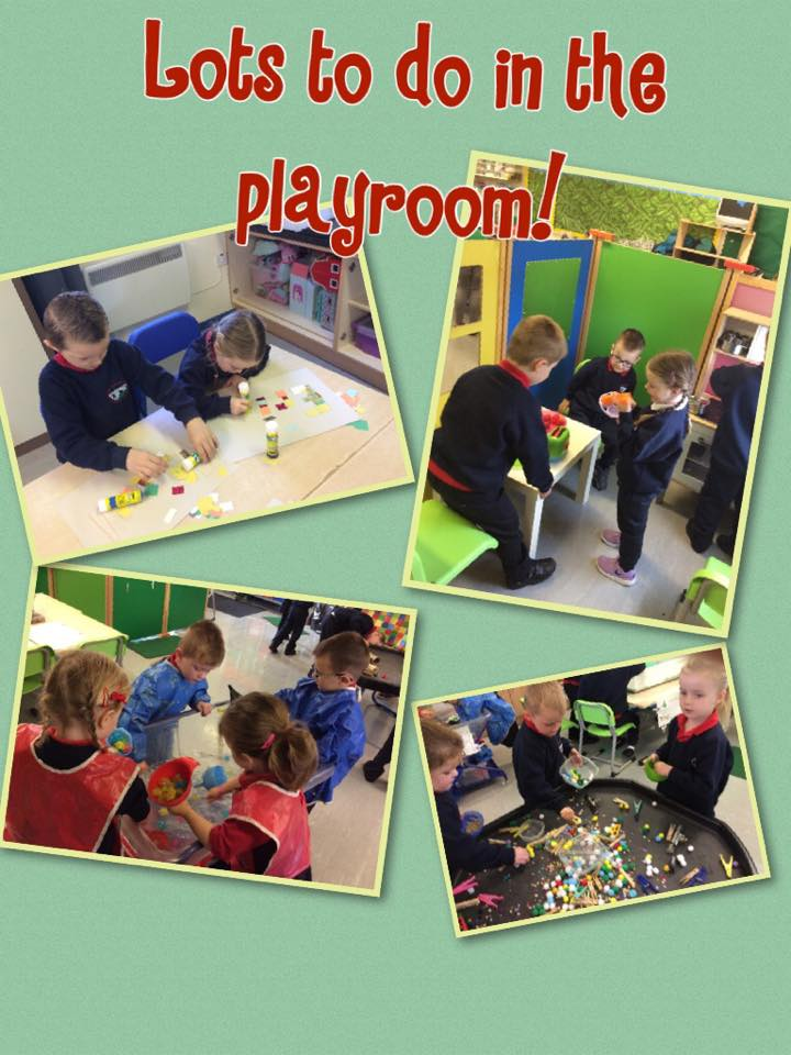 We have so much fun in the playroom exploring our world through play.