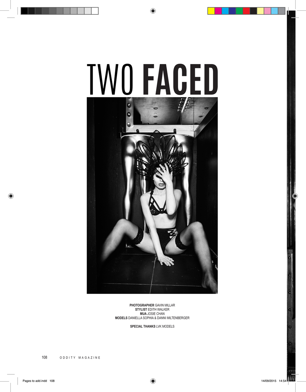 TWO FACED | GAVIN MILLAR