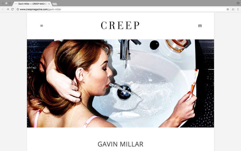 In Conversation with Creep Magazine...  Click to read.