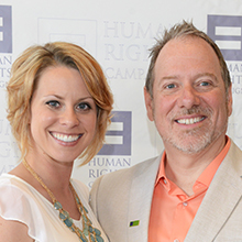 Jaime Duggan & Chris Lindsey 2014 Co-Chairs | HRC's DFW Federal Club