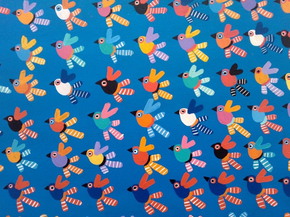 Em depoimento para o documentáro o artista plástico Siron Franco ressalta o diferencial e o domínio das cores na obra primitiva de Fé Córdula.
