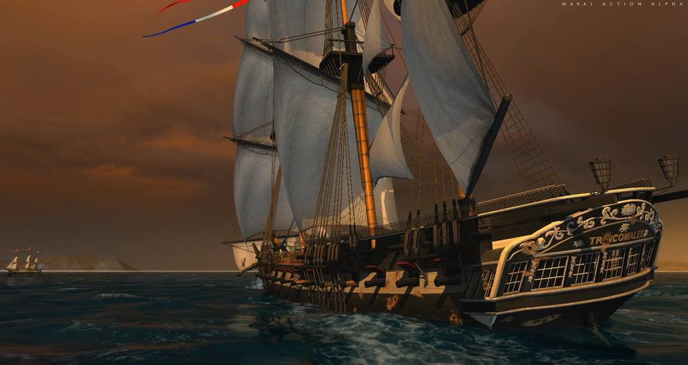 Trincomalee is a beautiful ship with excellent