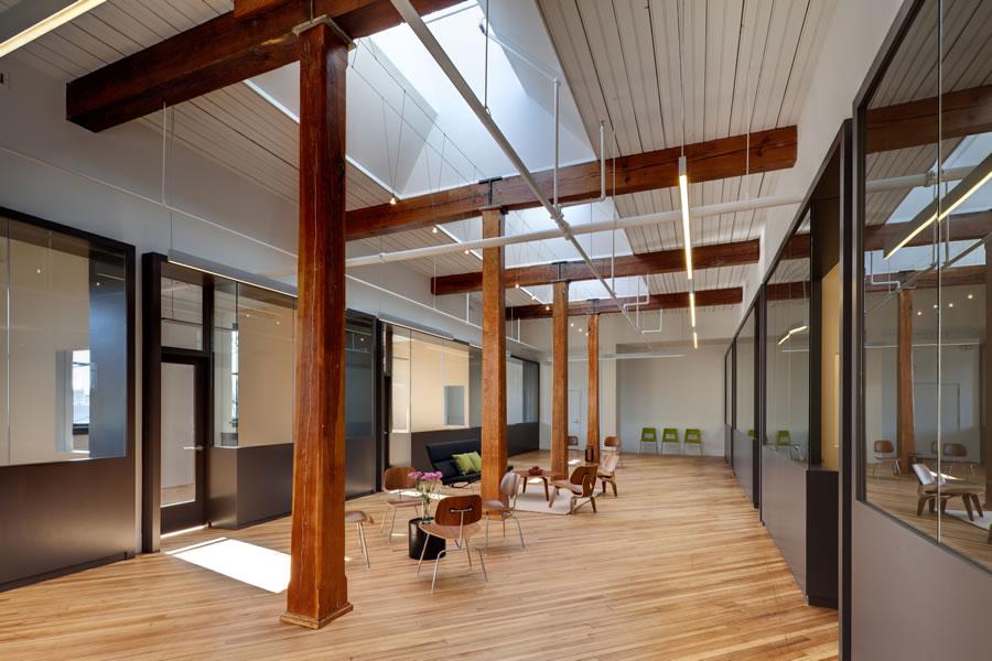 ideas for attic renovation - Loft fice Renovation — Wolf Ackerman