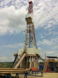 iPhone photo taken on drill site,   Carpathian Thrust Belt,   Poland
