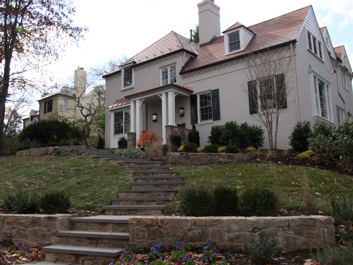 Arlington Residence Front Stairs