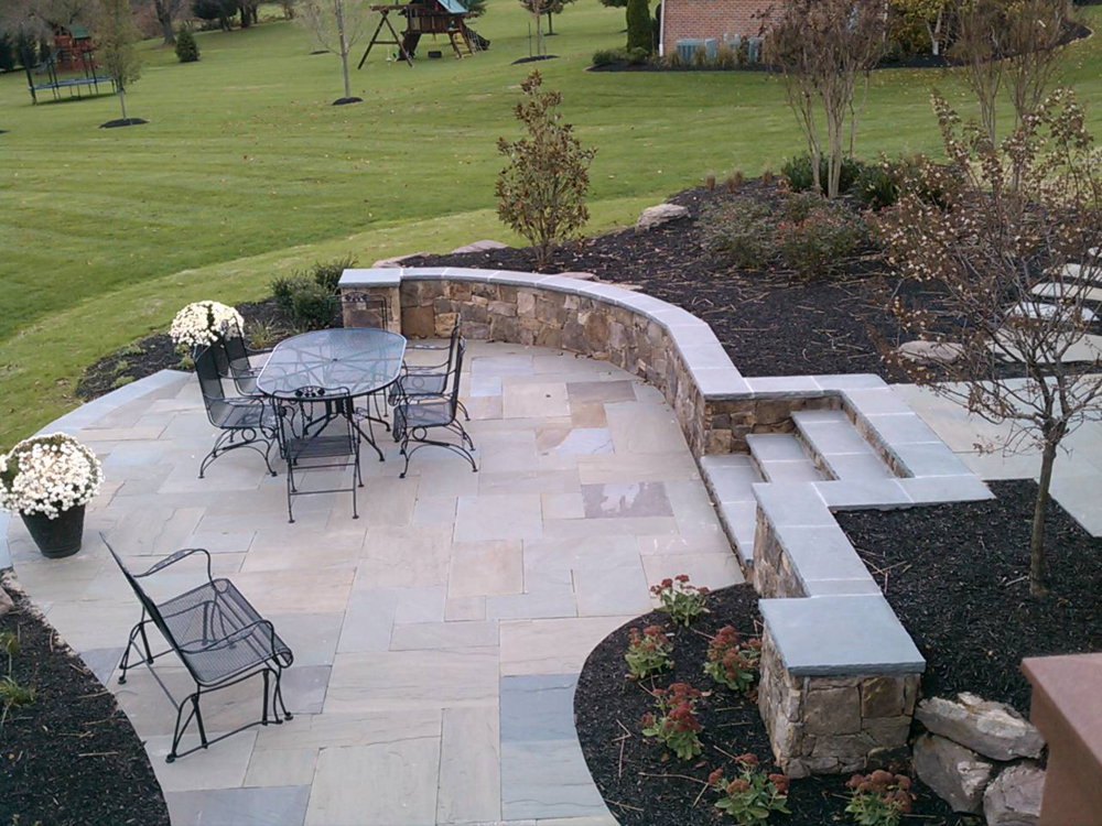 Glenwood Residence Patio & Stairs