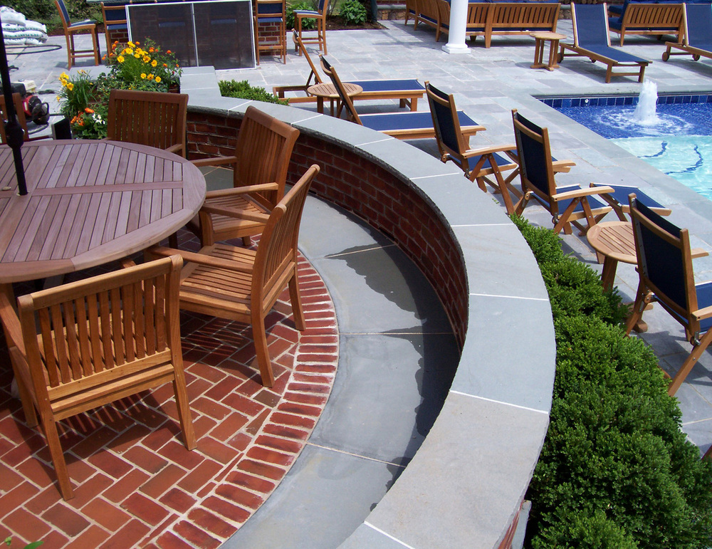 Chevy Chase Residence Pool Deck & Patio