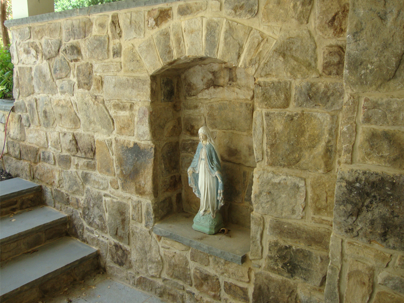 McLean Residence Stone Detail