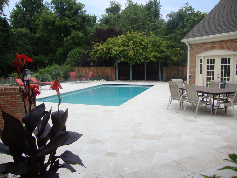 Oakton Residence Pool Deck