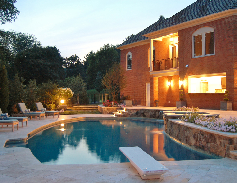 Oakton Residence Pool & Addition