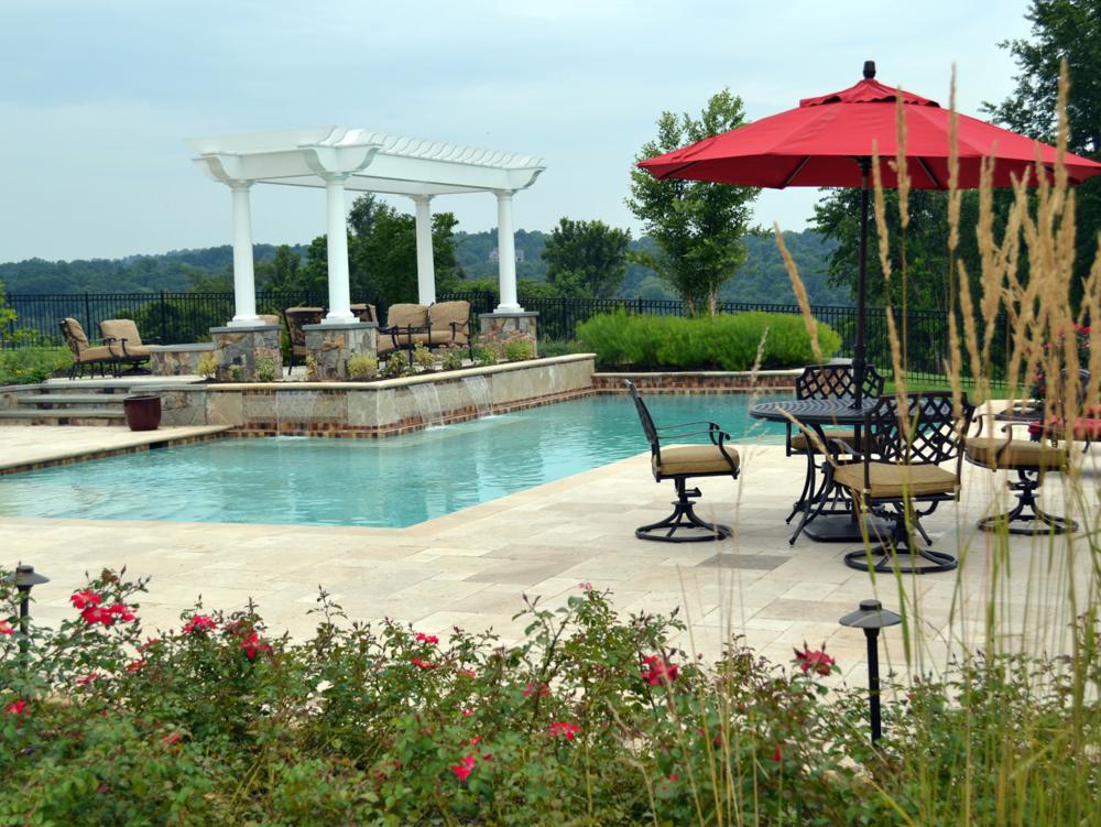 Aldie Residence Patio & Pool