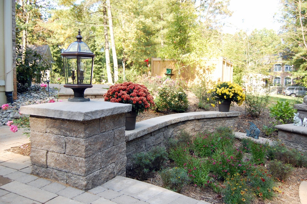 Great Falls Residence Retaining Wall & Pier