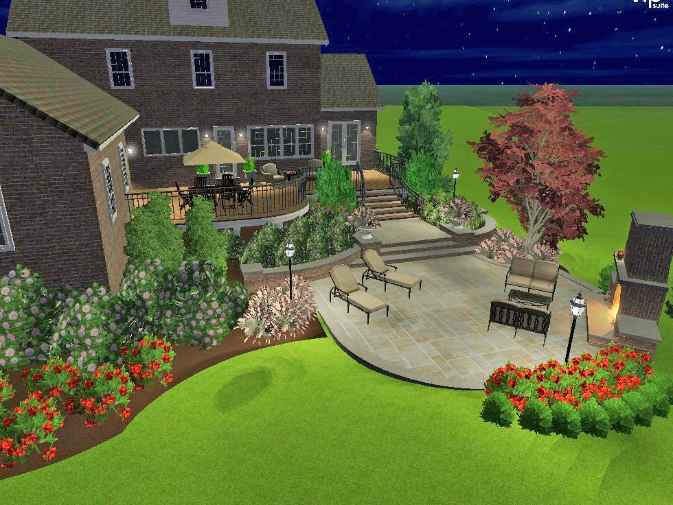 3d Visualization Landscape Architecture Custom