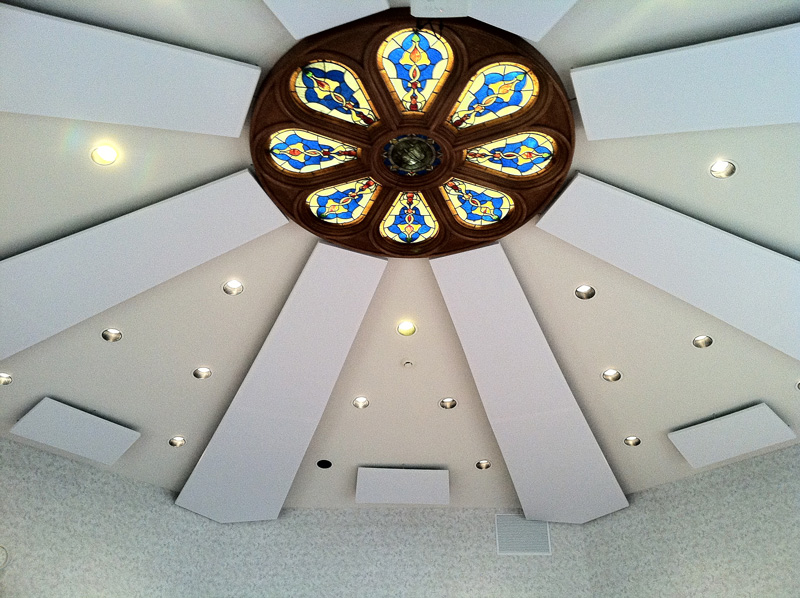 Church Ceiling Installation