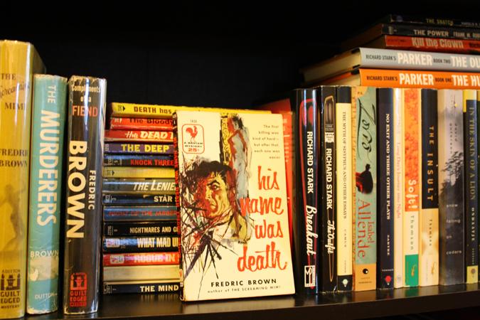 Mitchell Hooks bookshelf