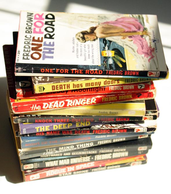 Fredric Brown paperbacks